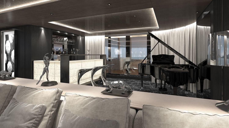 SOLO Interior Motor Yacht Tankoa S701