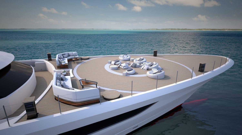 Cosmos Motor Yacht Heesen Yachts Lounge