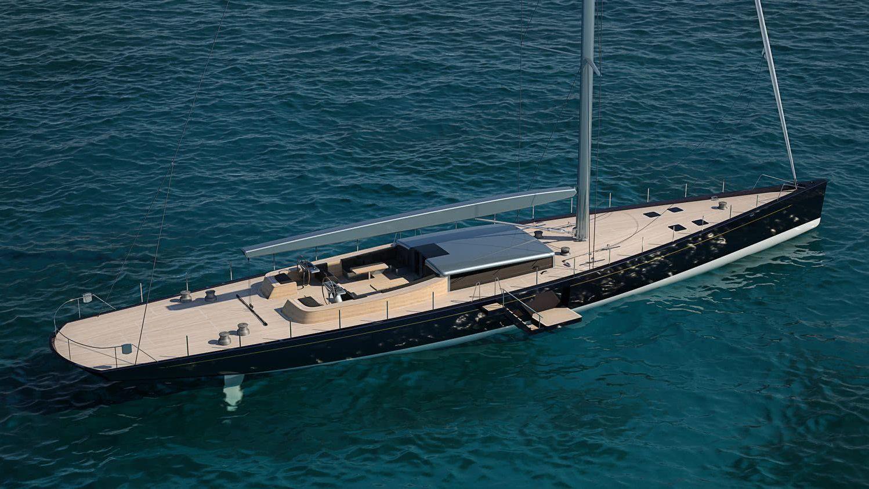 Pura 40m Sailing Yacht Royal Huisman