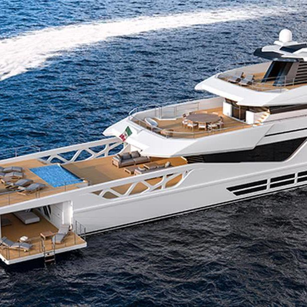 Rosetti Superyachts 52m Motor Yacht Design