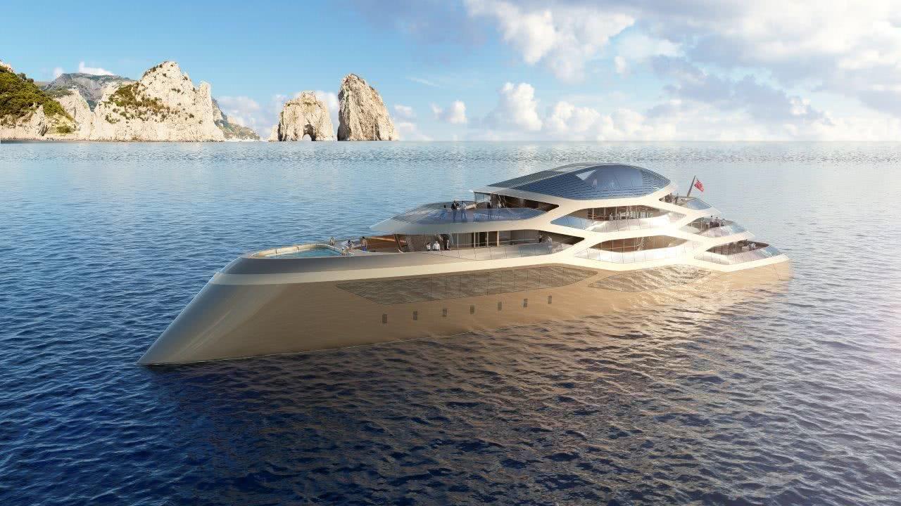 SE77ANTASETTE Benetti Motor Yacht Design