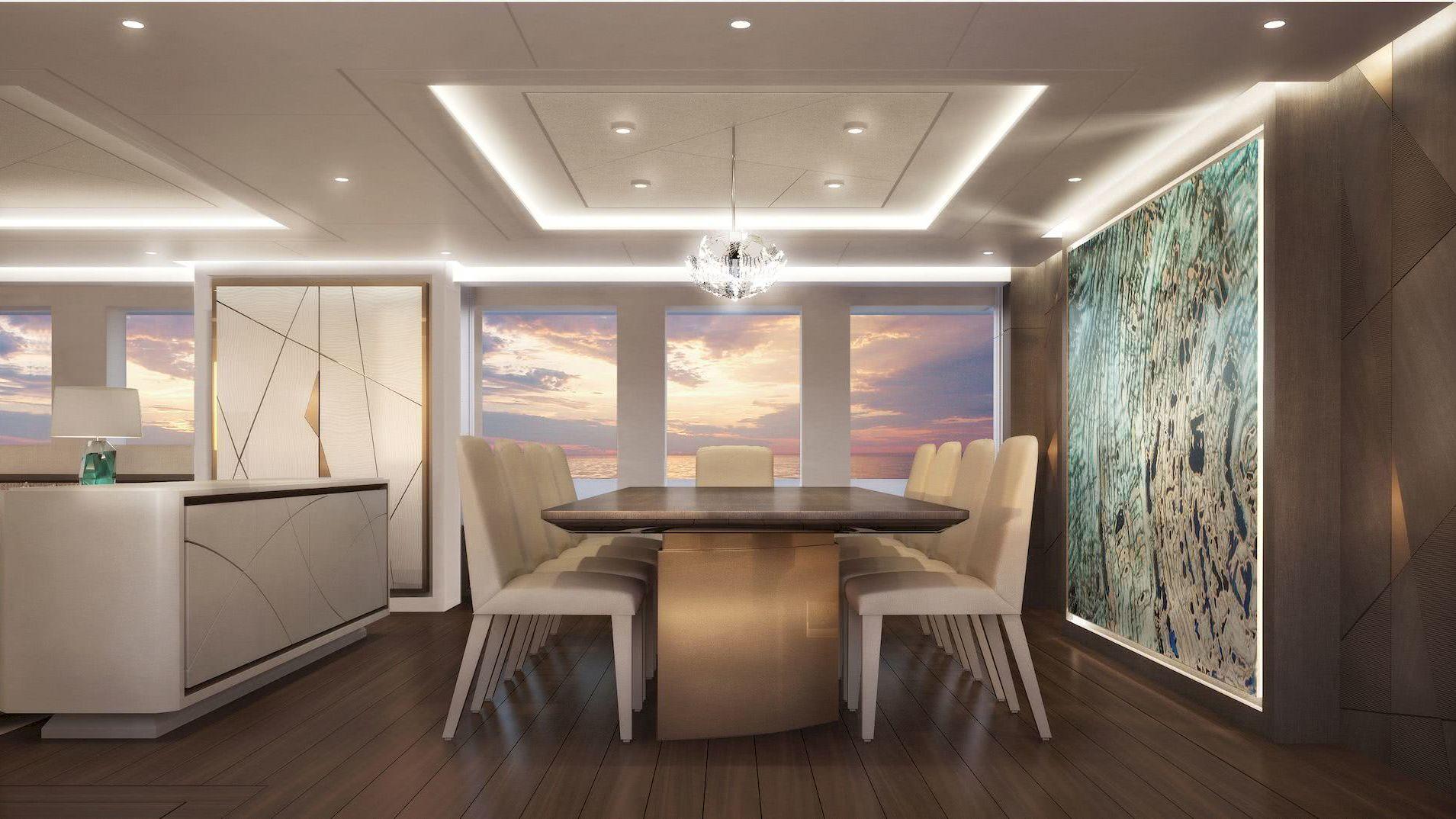 Triton Yacht Interior