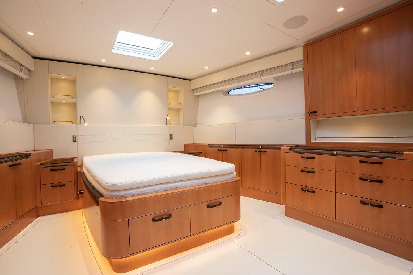 Baltic 85 Interior Owner's Cabin
