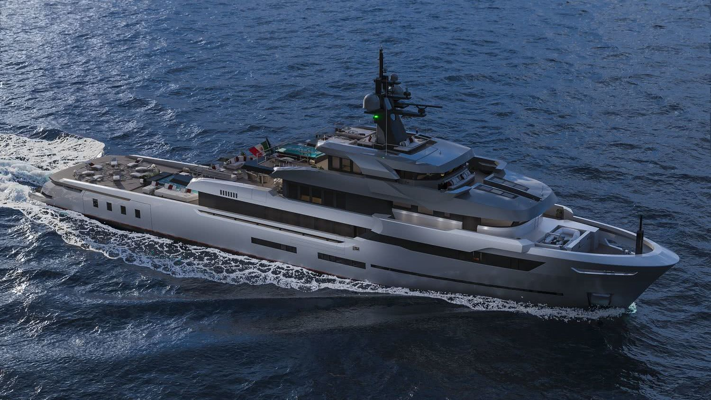 Hot Lab 67m Explorer Viareggio Superyachts