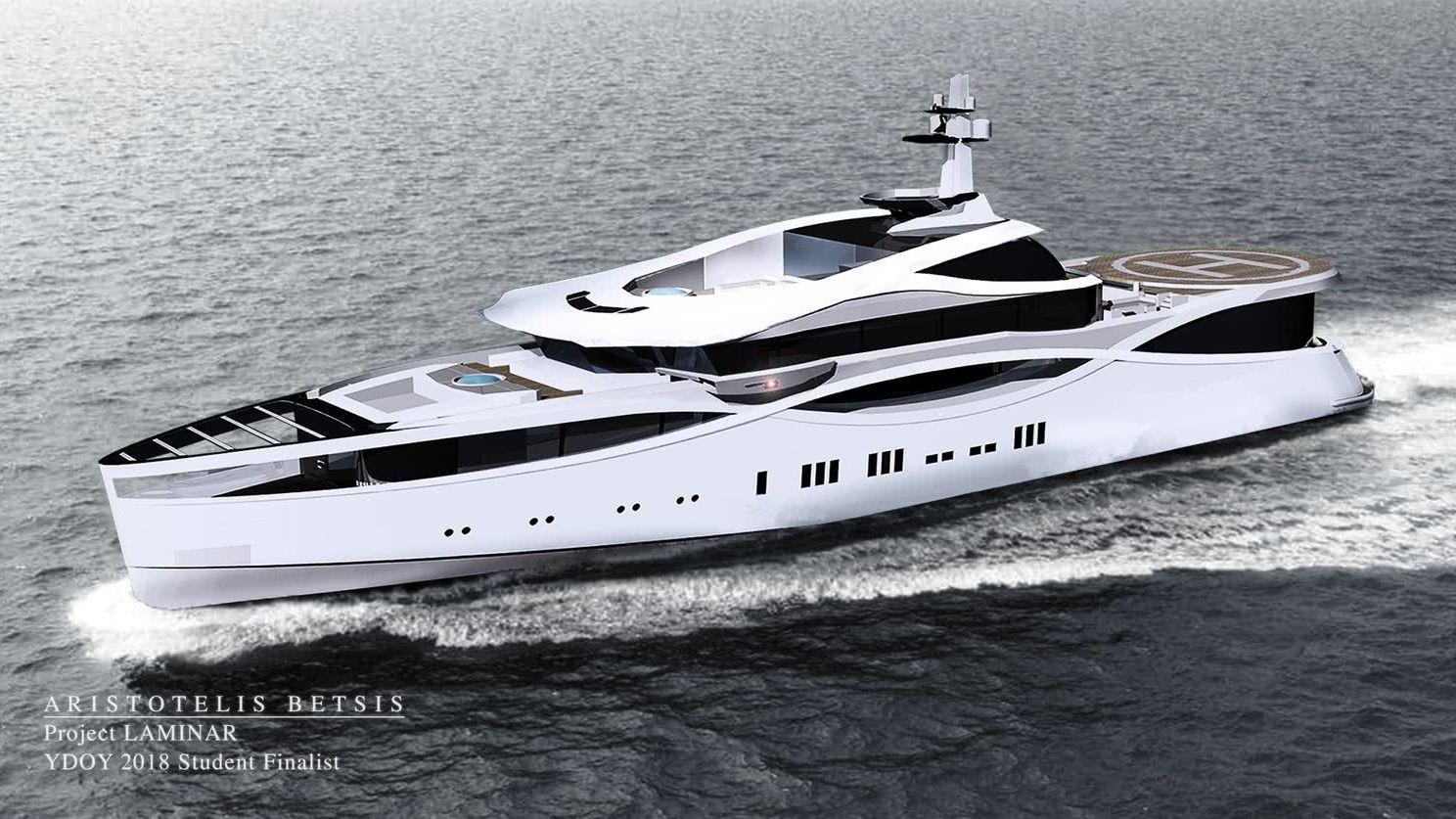 Laminar Yacht Aristotelis Betsis