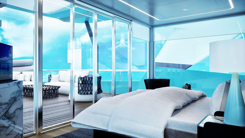 V for Explorer Yacht 30m Interior Design