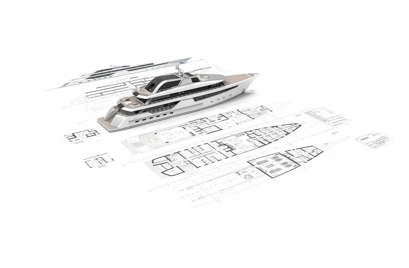 Vitrum Gianmarco Cardia Lürssen Yacht Design Layout