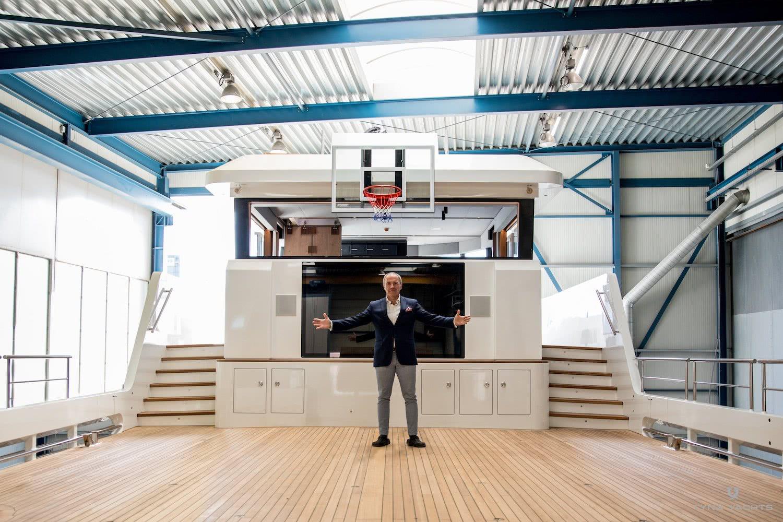 Basketball hoop yacht lynx yxt 24