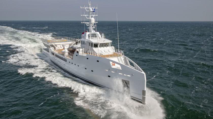 Game Changer Damen Yacht Support Vessel