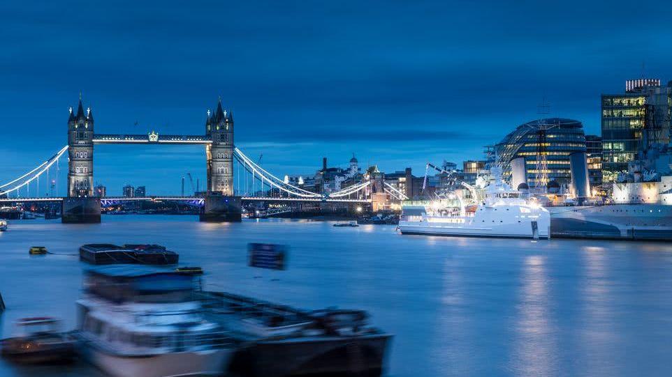 Game Changer Damen Yacht Support Vessel London