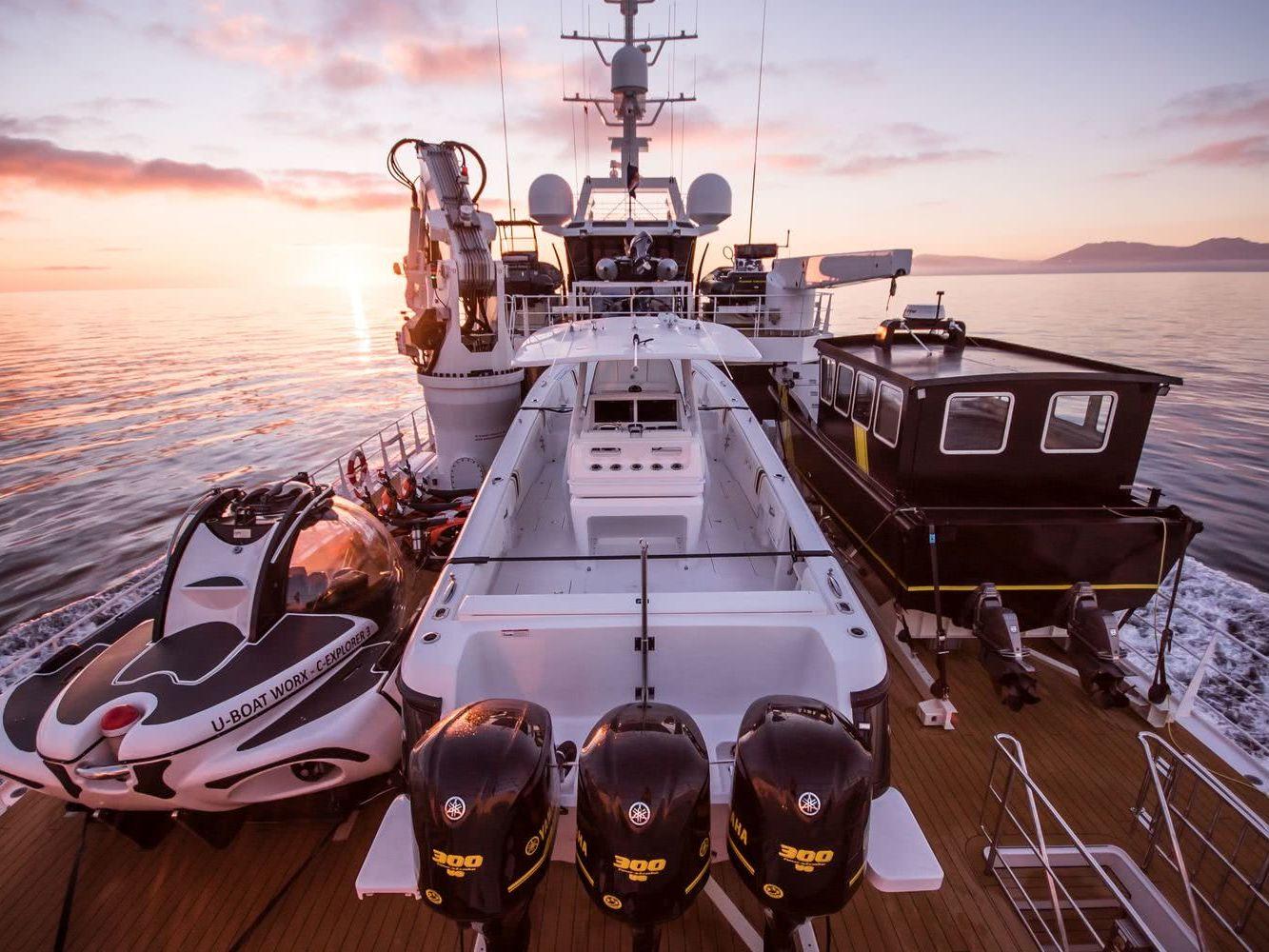 Game Changer Damen Yacht Support Vessel Tenders