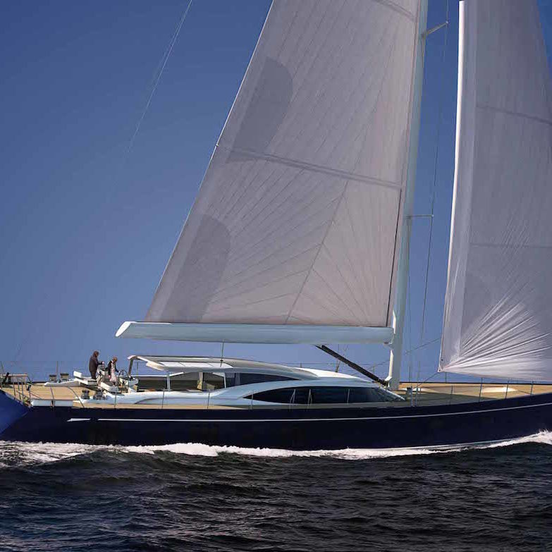 Oyster 118 Sailing Yacht