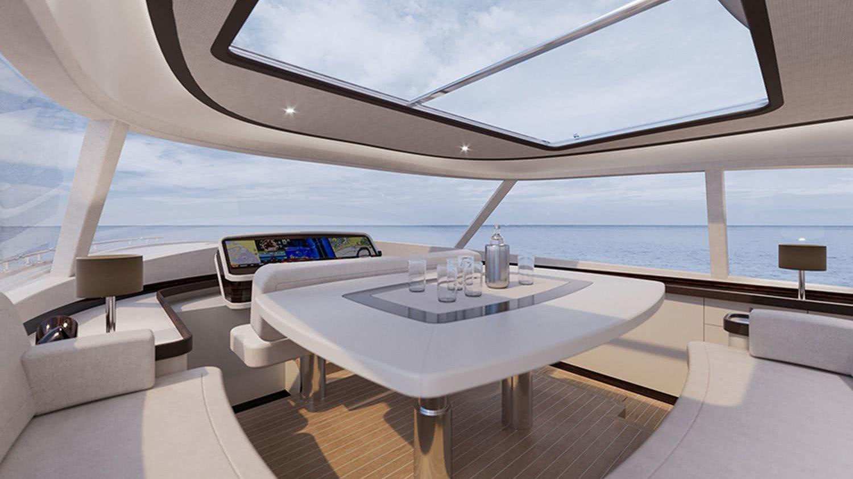 Zeelander Z72 Motor Yacht Interior