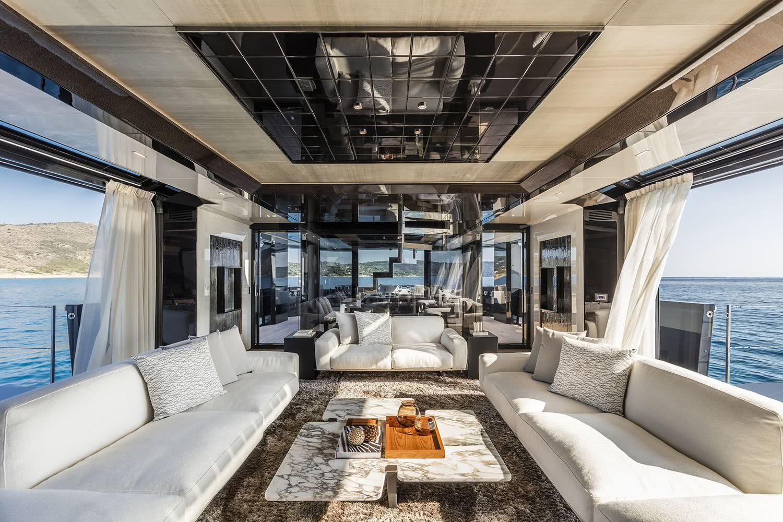 Arcadia A105 Motor Yacht Interior