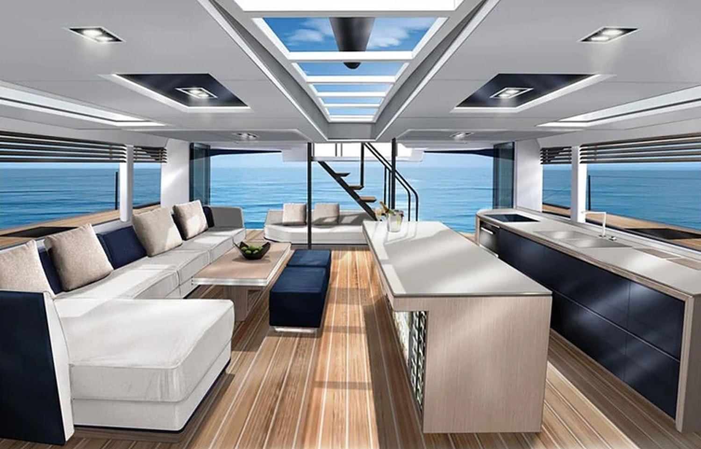 MC59P-McConaghy-Boats-Catamaran Interior