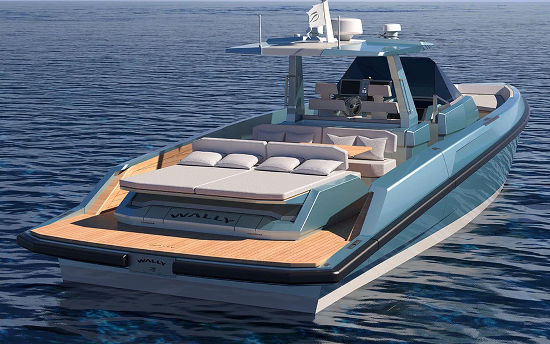 48 Wallytender Motor Boat