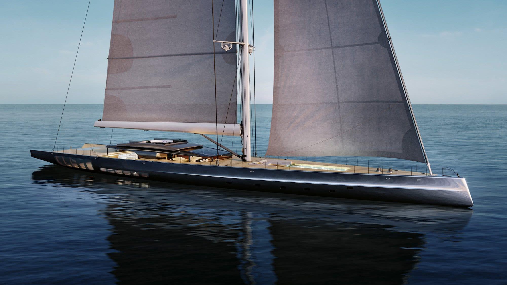 72m Sloop MM725 Malcolm McKeon Yacht Design