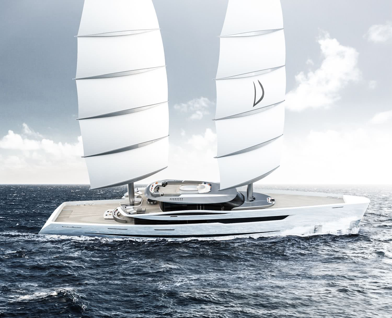 Vela Sailing Yacht Gianmarco Cardia DynaRig