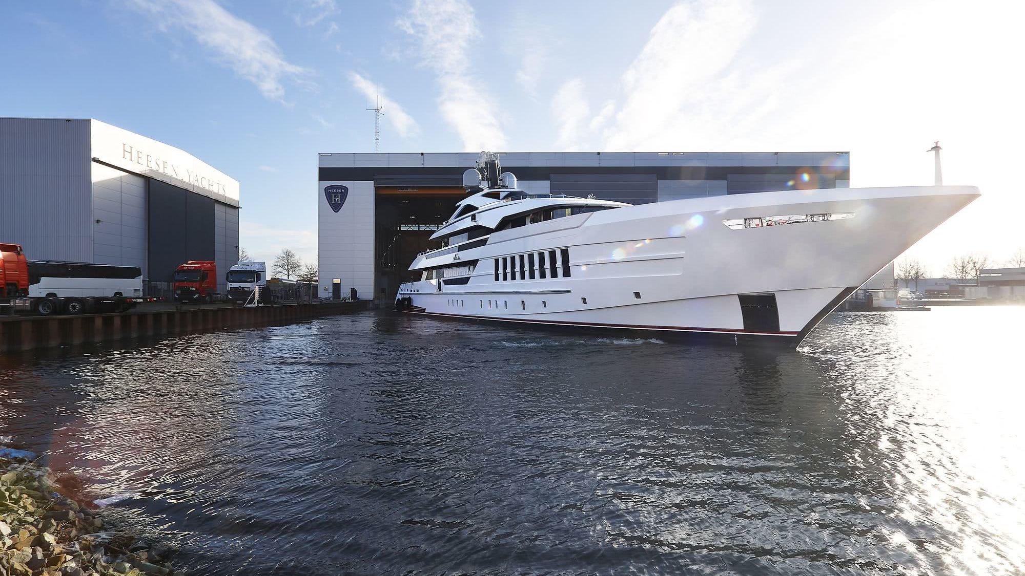 Vida Motor Yacht Heesen Yachts