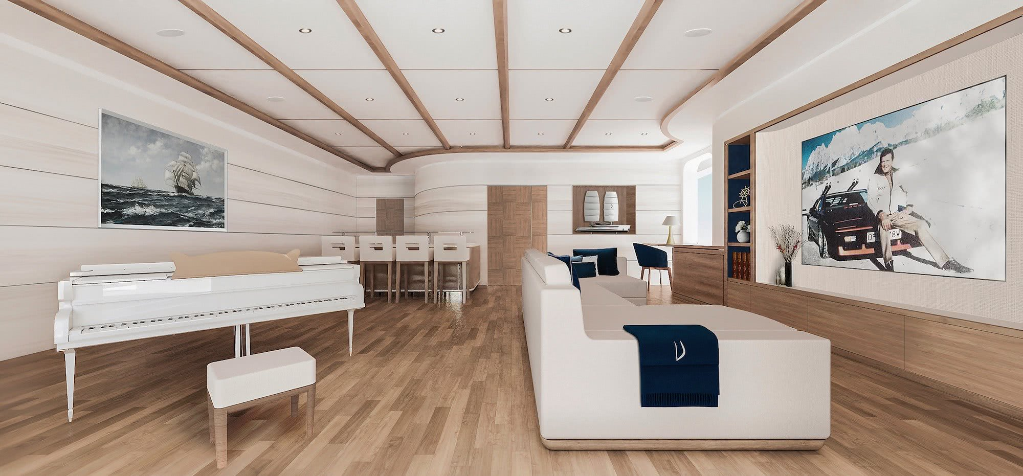 Vela Sailing Yacht Gianmarco Cardia Interior