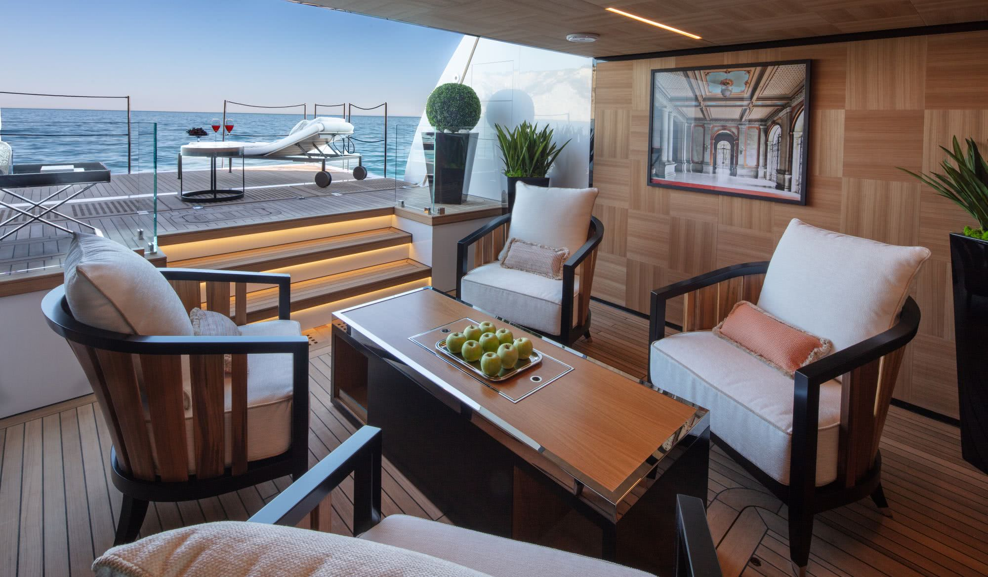 Agora III Motor Yacht Interior