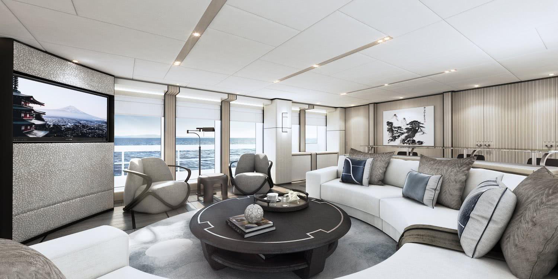 Aquamarine Yacht Heesen Interior