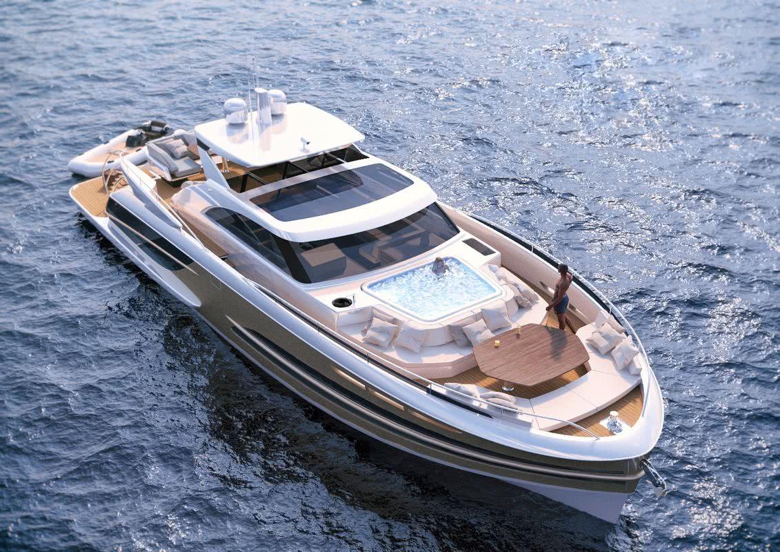 BeachClub 600 Motor Yacht Van der Valk Pool