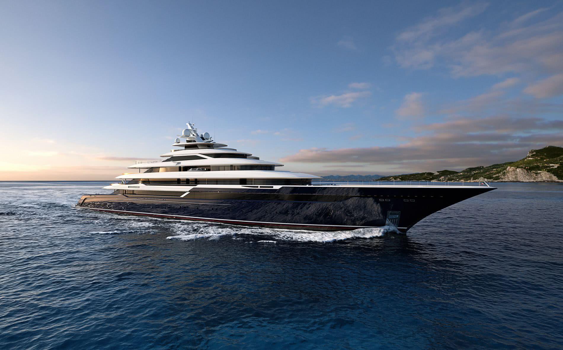 Columbus Classic 120m Motor Yacht