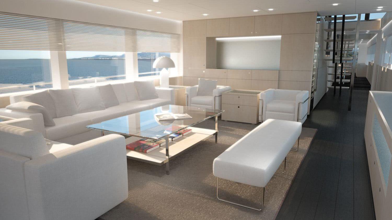 Jangada 2 Motor Yacht Interior