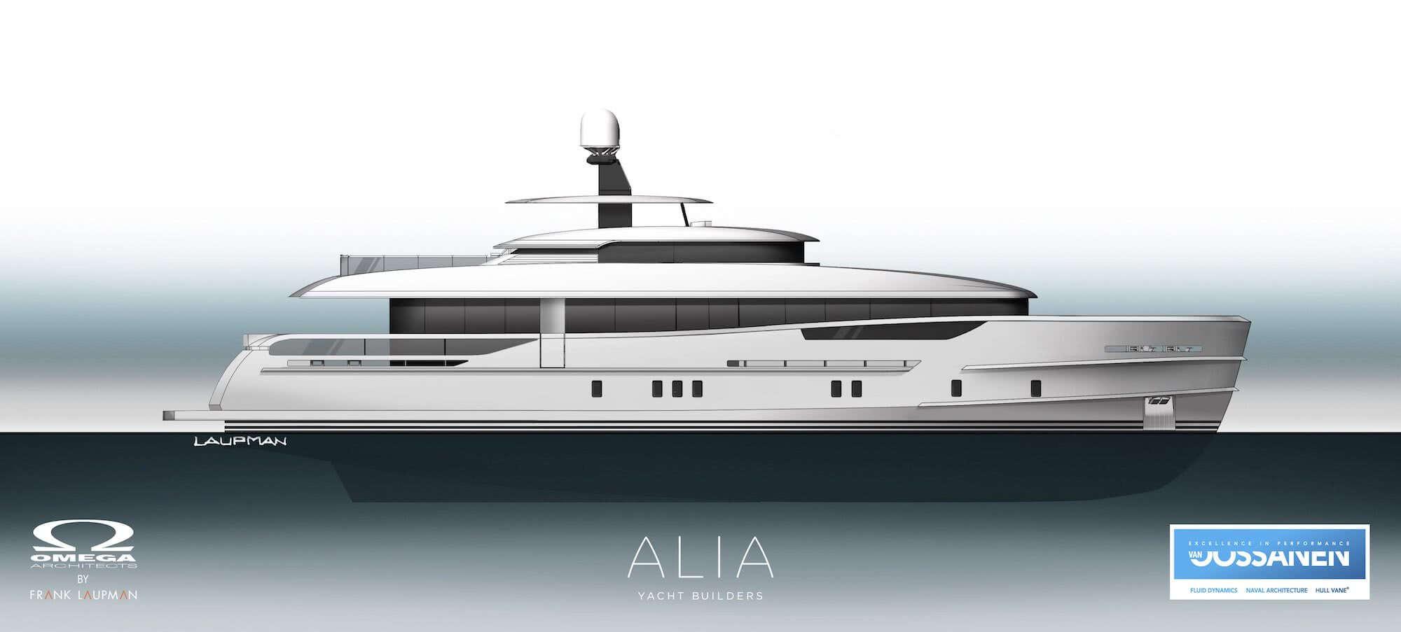 Nozomi II Alia Yachts