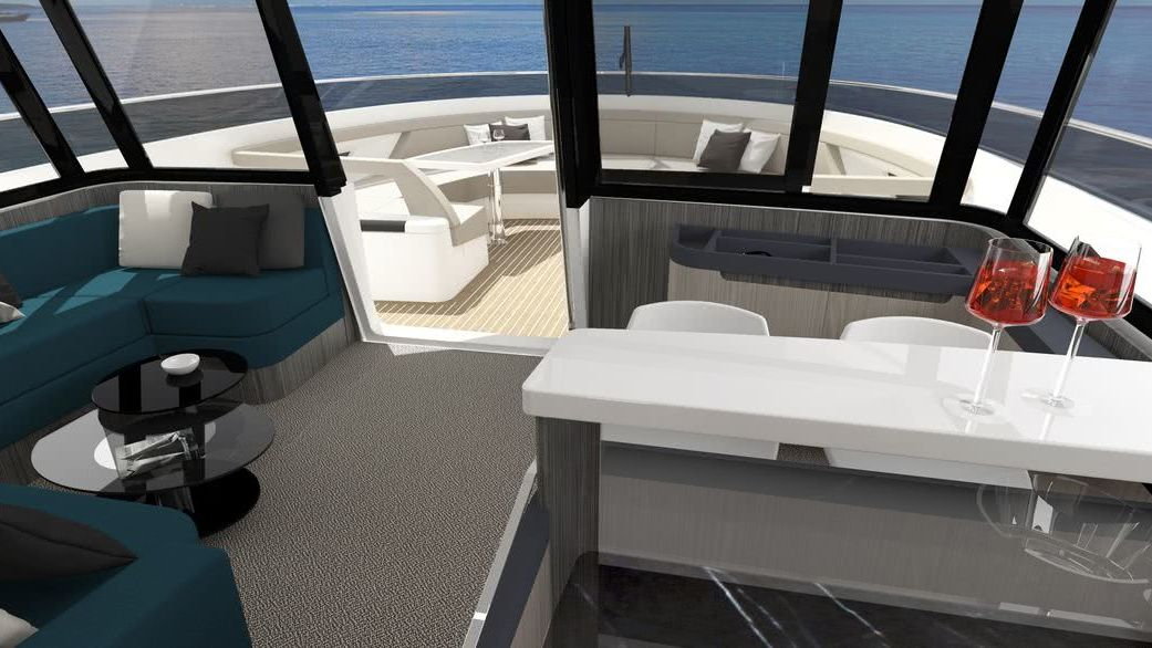 Motor Yacht Cetera 60 Interior