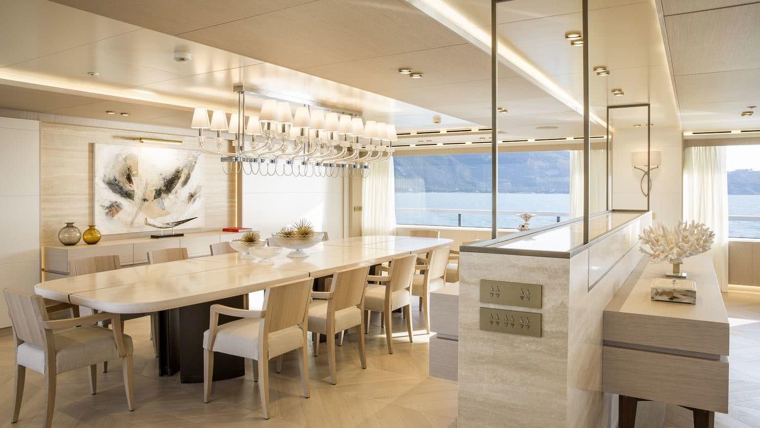 Dragon Yacht Interior