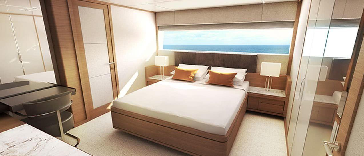 Johnson 115 Motor Yacht Interior