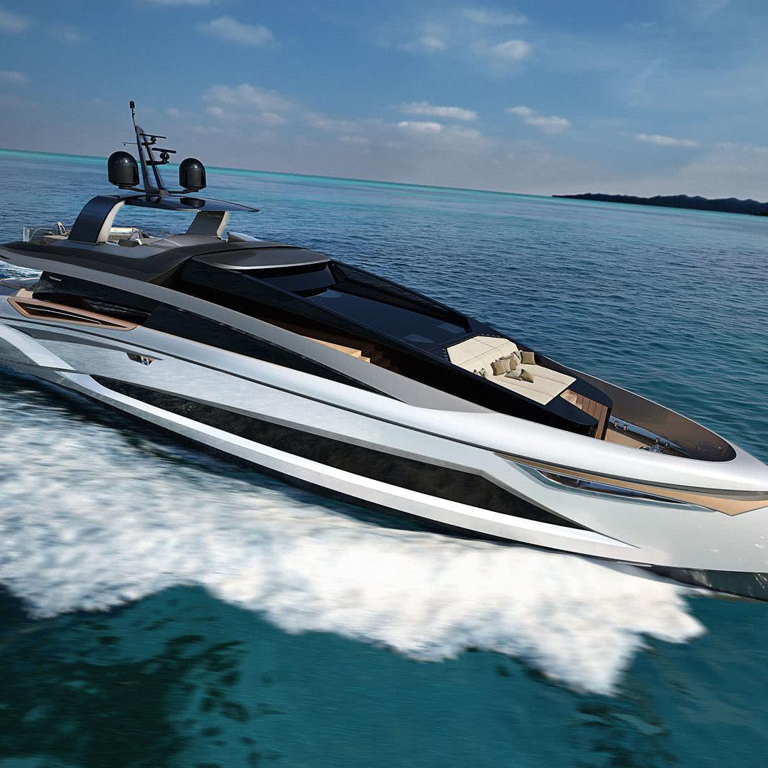 Tecnomar Evo 120 Motor Yacht