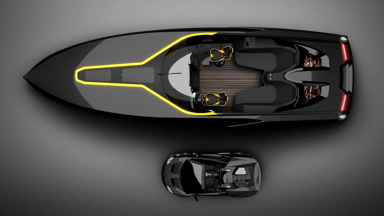 A43 Officina Armare Lamborghini Boat