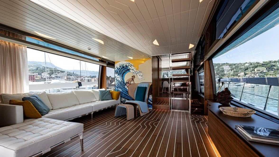 CentrostileDesign Interior Sanlorenzo SX76 Yacht Popart