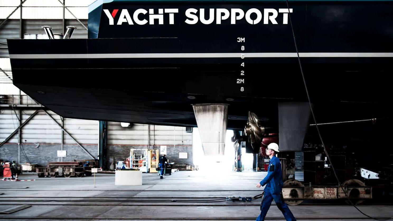 Joy Rider Yacht Support Vessel Damen Shipyard