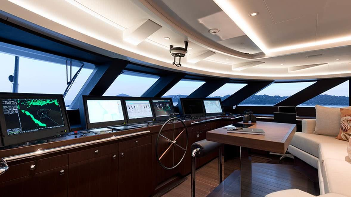 Samurai Yacht Interior