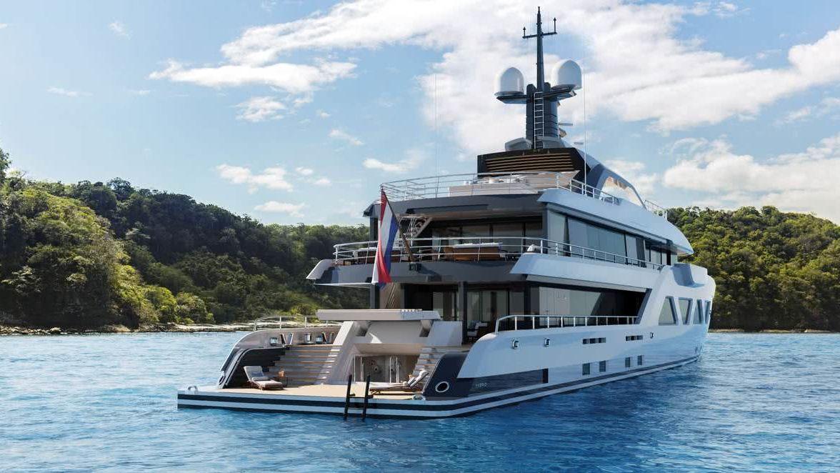 Amels 60 Hybrid Yacht