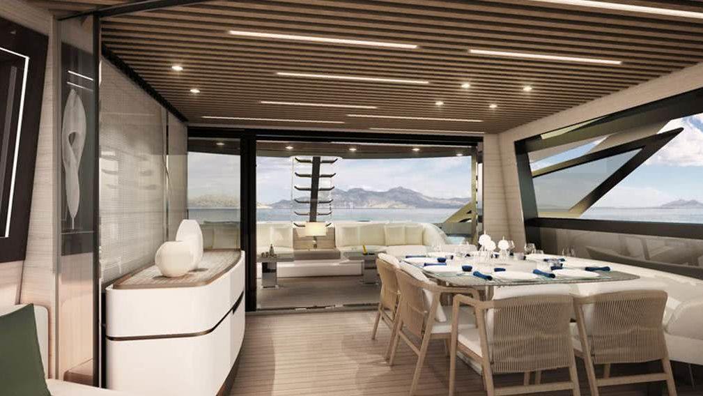 Azimut Grande S10 Interior