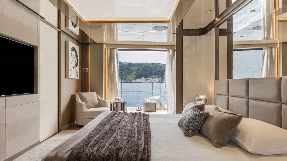 Custom Line 106 Interior Owner's Suite