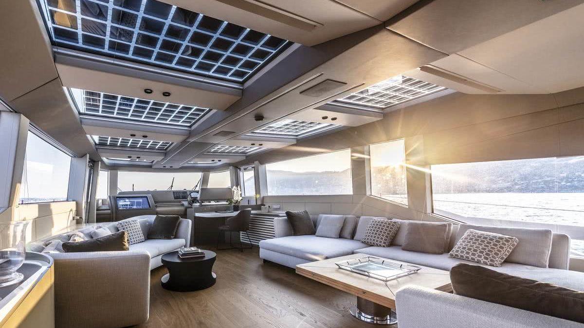 Extra 86 Fast MINI K Yacht Interior