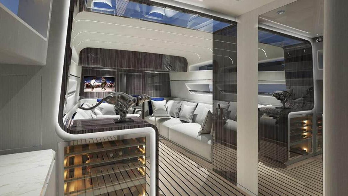 G64 Yacht Interior Fancy by Dada