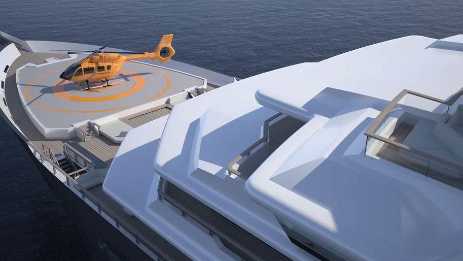 REV Ocean yacht