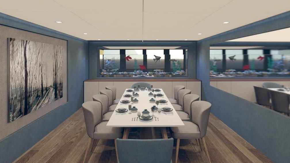 Snowflake Yacht Emre Citir Interior