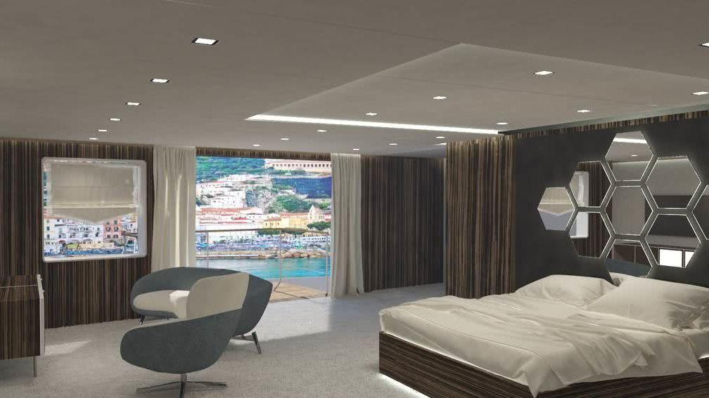 Snowflake Yacht Emre Citir Interior Owner's Suite