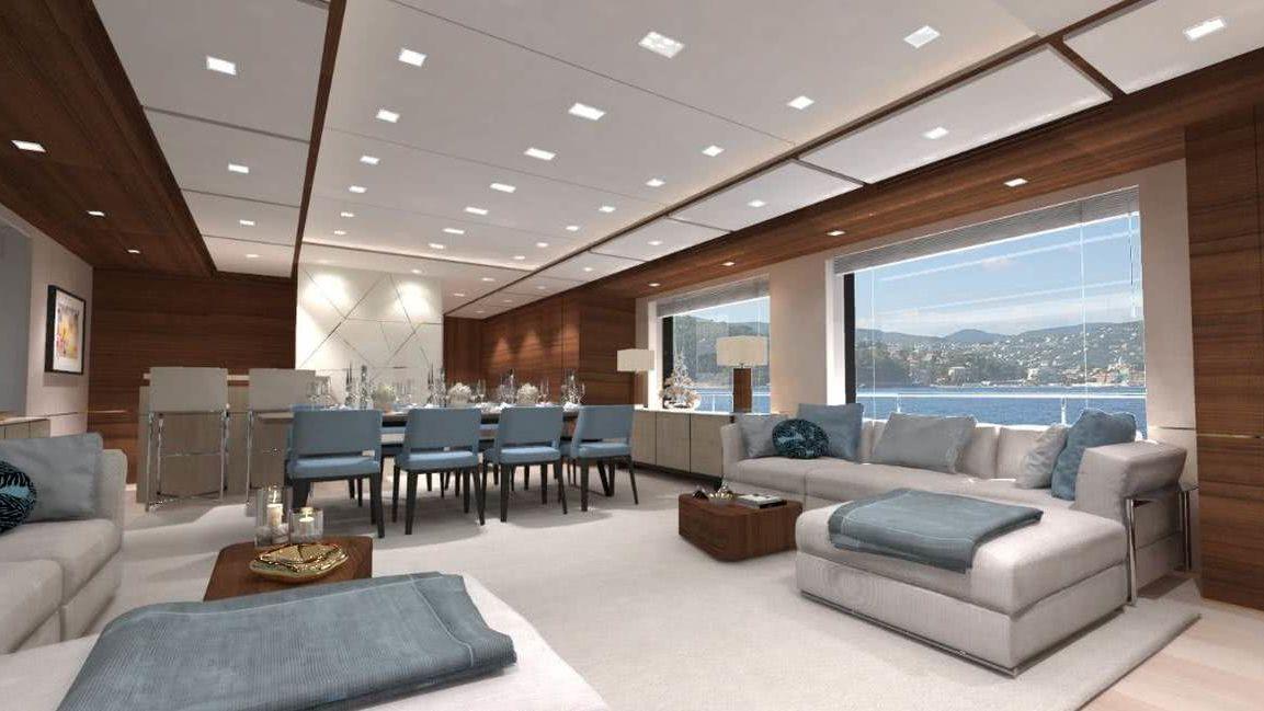 Adenture 29 Lynx Yachts Interior