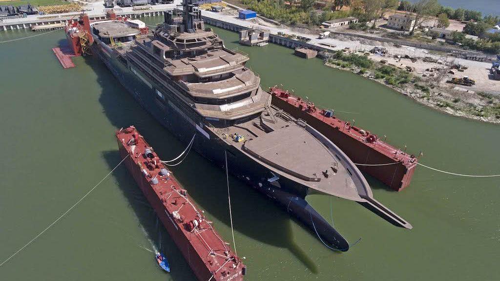 REV Ocean research yacht