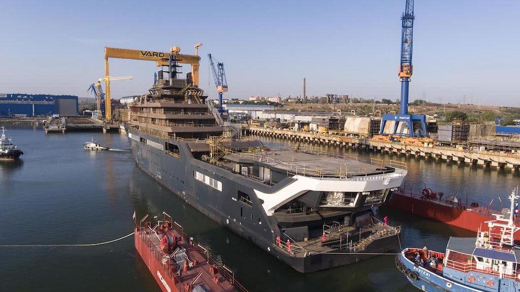 REV Ocean yacht launch