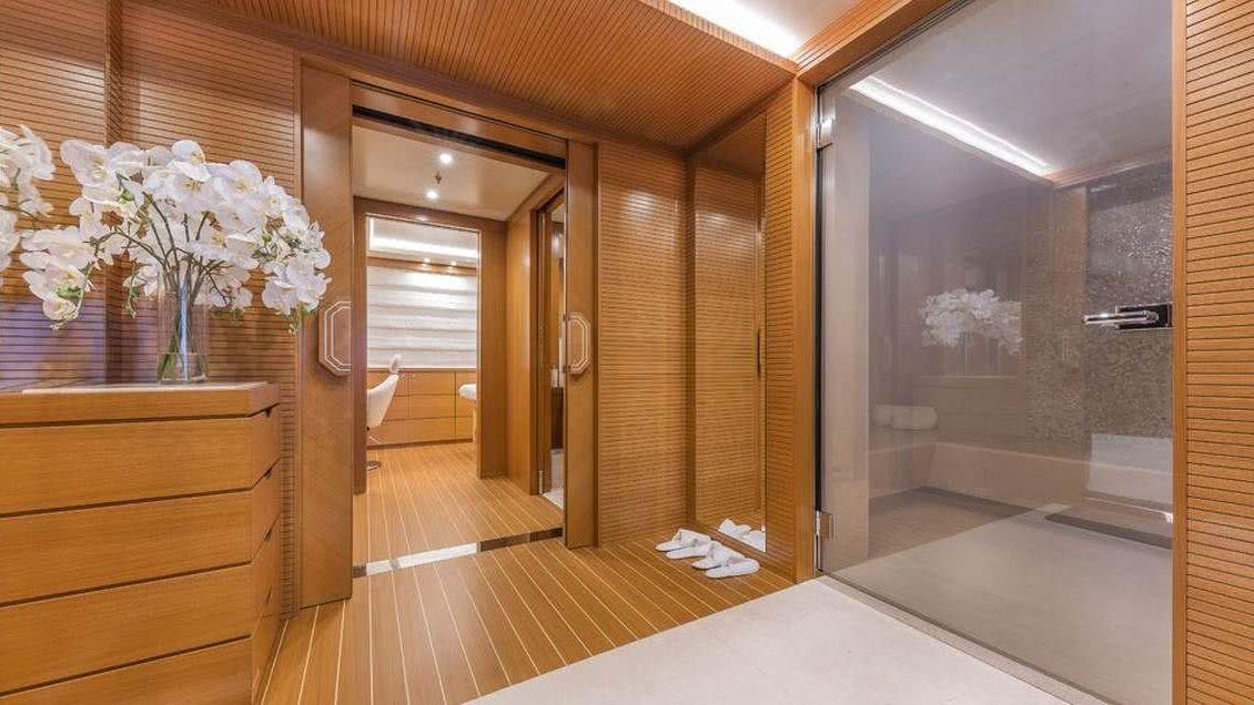 Specture Yacht Sauna Interior